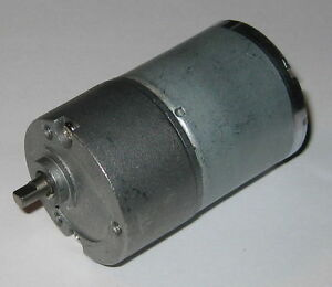 85 RPM Heavy Duty 12 V DC Gearhead Motor - 1500 g-cm Torque - Short Shaft