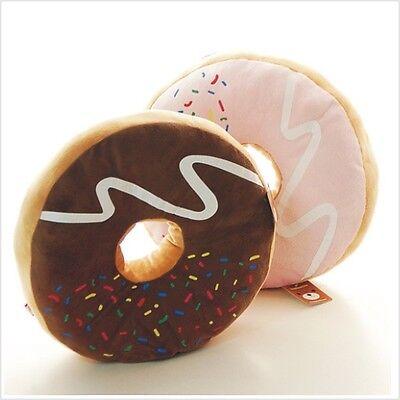kawaii donut cushion chocolate strawberry pillow FREE SHIPPING