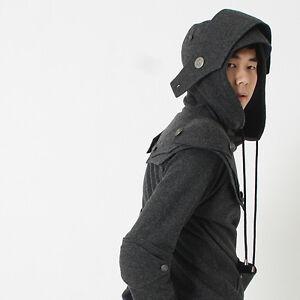 Patrick-Knight-Medieval-Armor-Pullover-Hoodie-100-Handmade-Wool