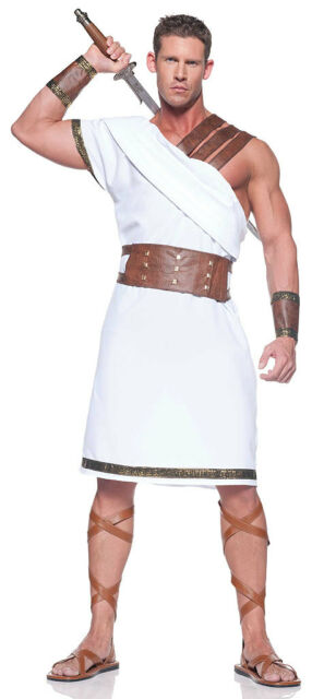 ADULT MENS GREEK GOD ROMAN SOLDIER WARRIOR COSTUMES EMPEROR CENTURION SPARTAN