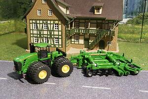 Siku-1856-John-Deere-9630-Tractor-with-Amazone-Centaur-Cultivator-Harrow-1-87