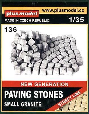 Plus Model - Diorama Paving stones Granite Plaster for Street 1:35