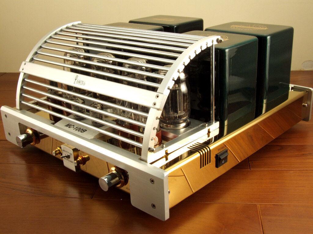 Image 2 - YAQIN-MC-100B-GB-KT88-Vacuum-Tube-Hi-end-Integrated-Power-Amplifier-110v-240v