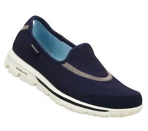 SKECHERS-SHOES-13510-GO-WALK-WOMEN-NAVY-SPORT-SLIP-ON-LIGHT-WEIGHT-SOFT-FLEXIBLE