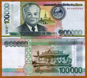 Lao-Laos-100000-100-000-Kip-2011-P-New-UNC