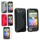 4in1 TPU Soft Gel Case Cover+LCD Guard Protector For HTC Droid Incredible 2 S