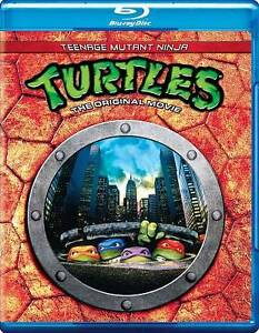 Teenage Mutant Ninja Turtles - The Movie (Blu-ray Disc, 2012)