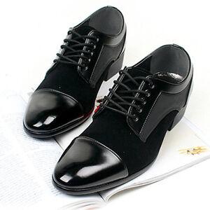 new mens dress formal casual mens oxford shoes black  ebay