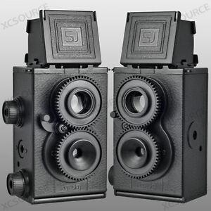 Recesky-DIY-Twin-Lens-Reflex-TLR-35mm-Holga-Lomo-Camera-Kit-Color-Black-DC67