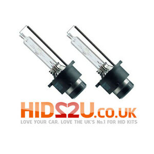 2x-6000K-D2S-HID-XENON-BULBS-OEM-REPLACEMENT-PHILIPS-BMW-VW-MERCEDES-AUDI-E-MARK