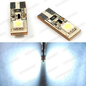 2x-White-LED-Parking-Eyelid-Light-Bulbs-Error-Free