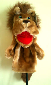 Novelty-Lion-Glove-Puppet-Golf-Driver-Club-Head-Cover