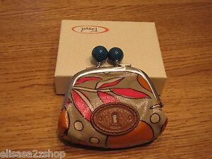 Fossil-SL3070843-Key-Per-Frame-Coin-Fruit-purse-NWT