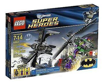 LEGO 6863 Batwing Battle Over Gotham City & & & Joker Copter MINT SEALED RETIRED c5e547