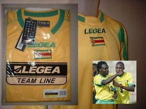 ZIMBABWE-NEW-in-BAG-BNIB-Football-Soccer-Shirt-Jersey-LEGEA-Sizes-Adult-M-L-XL