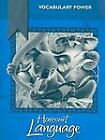 Harcourt Language : Vocabulary Power by Harcourt School Publishers Staff (2003, Hardcover, Study Guide)