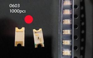 1000x-Red-0603-Super-Bright-DASH-SMD-SMT-LED-Lamp-Light