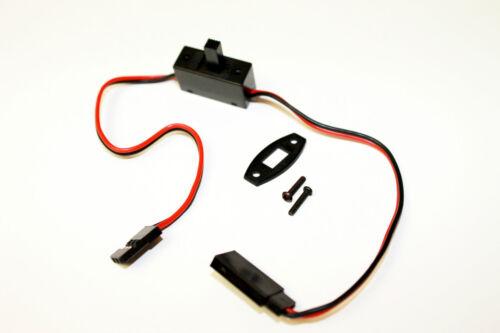 Empfänger Ein/Ausschalter Schiebeschalter mit Stecker und Buchse