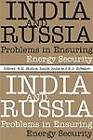 India and Russia: Problems in Ensuring Energy Security by Academic Foundation (Hardback, 2011)