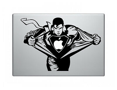 "Superman Vinyl Decal Sticker Skin for Apple MacBook Pro Air Mac 13"" inch"