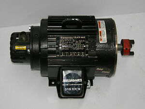 Marathon electric black max dvl 184thtl7776be 2hp motor w for Marathon black max motors