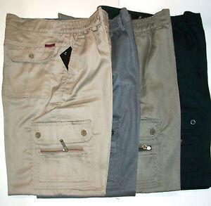 pantalon homme multipoche style treillis chasse peche 4 couleurs 38 au 54 ebay. Black Bedroom Furniture Sets. Home Design Ideas