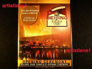 2008-BEJING-CHINA-OLYMPICS-OPENING-CEREMONY-2-DVD-NEW