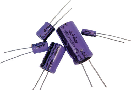 Electrolytic Radial Capacitors Various Values / Voltage