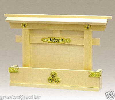 Miniature God Shelf KAMIDANA Shinto Shrine Good luck Treasure box for Lottery