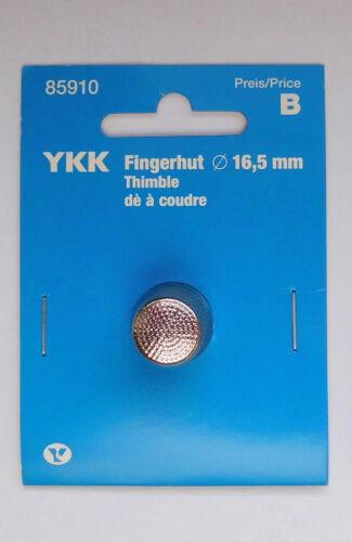 Fingerhüte Fingerhut Koh-i-Noor und YKK verschiedene Größen