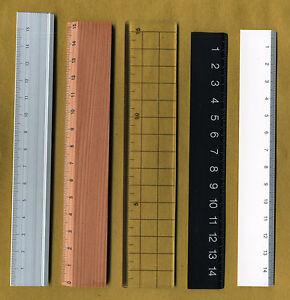 Muji-Minimal-aluminum-wood-plastic-transparent-rulers-5-designs-15cm-pick-1