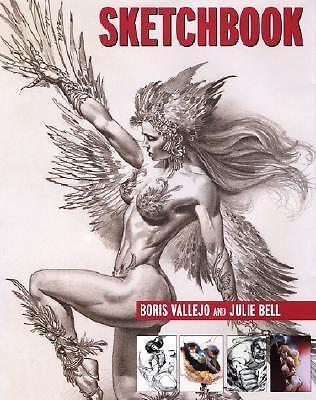 Boris Vallejo - Sketchbook (2001) - Used - Trade Cloth (Hardcover)