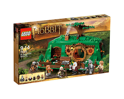 NEW Lego 79003 The Hobbit An Unexpected Gathering, 6 minifigs, Retired