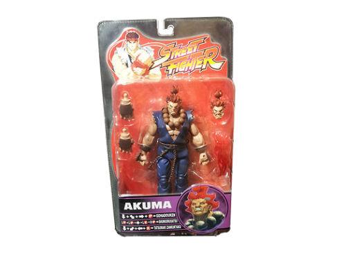 Round 4 Shin Akuma Chase Action Figure Sota toys Street Fighter Series 4