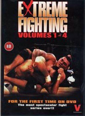 Extreme Fighting Vol.1-4 (DVD 2003) Freepost Fast Dispatch.