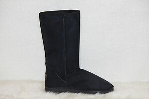 Ugg-Boots-Tall-Synthetic-Wool-Size-11-Mens-Colour-Black