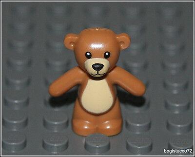 Lego Friends x1 Light Brown Teddy Bear City Boy Girl Animal Toy Minifigure NEW