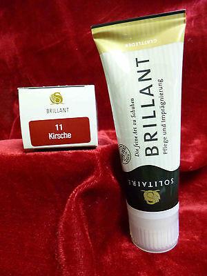 75ml(9,80EUR/100ml) Solitaire Brillant Creme Schuhcreme Glattleder intensiv Pflege