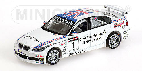 1 43 BMW 320si WTCC CHAMPION 2006 Andy Priaulx