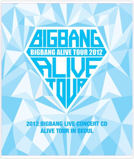 YG eshop / 2012 BIGBANG LIVE CONCERT CD[ALIVE TOUR IN SEOUL]+Folded Poster K-POP