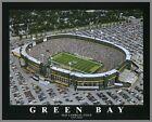 Laminated Visuals Green Bay Packers - Old Lambeau Field Aerial - Lg - Wood Mounted Poster Print - AX28