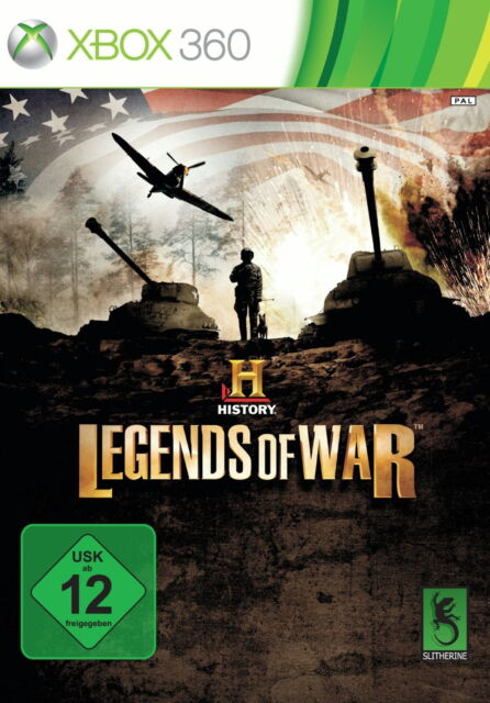 History: Legends of War (Microsoft Xbox 360, 2013, DVD-Box)
