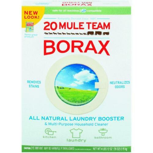 4 Lb. 12 0z 20 Mule Team Borax Natural Laundry Booster Household Cleaner 00201