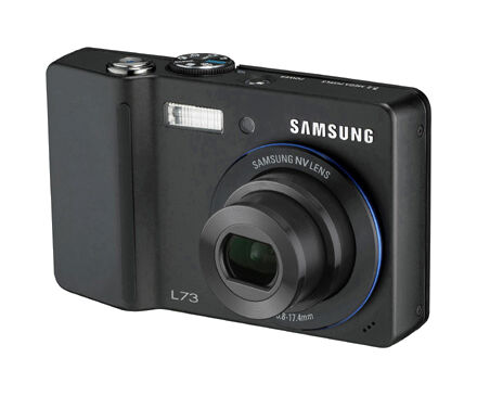 SAMSUNG DIGIMAX~ L73~ 7.2 MP Digital Camera - Black  (R5)