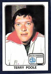 PANINI-FOOTBALL-79-062-BOLTON-WANDERERS-TERRY-POOLE