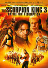 The Scorpion King 3: Battle for Redemption (DVD, 2012)