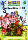 New Heinemann Maths Yr1, Subtraction to 10 Activity Book (8 Pack) by Pearson Education Limited (Multiple copy pack, 1999)