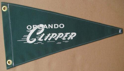 Orlando Clipper Vintage Style Boat Flag Pennant Retro Nautical Memorabilia