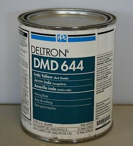 Ppg deltron dmd 644 indo yellow red shade univ mix base for Ppg automotive paint store