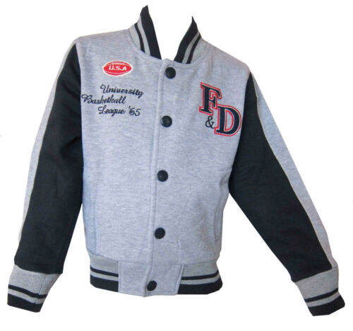 12 /& 14 Years Boys//Girls Baseball Casual Jacket Great Value Ages 4 8 6 10
